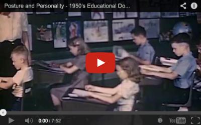 Posture Video - 1950s