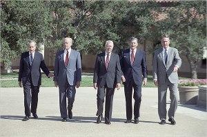 presidentswalking